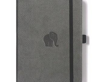 Dingbats A5 Notebook Bullet Journal Dot Grid Grey Elephant   Grey Notebook    Elephant Notebook   Grey Journal