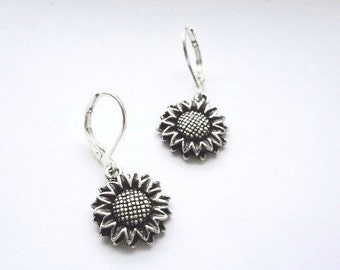 Sunflower Earring , **FREE SHIPPING**Usually Ships the Same Day **