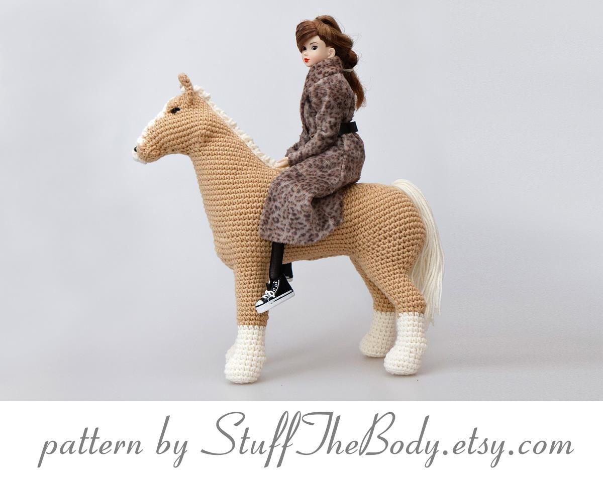 Abby The Horse Amigurumi Pattern Pony Crochet Pattern home