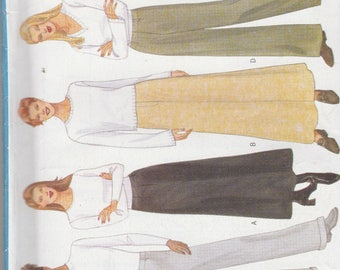 Butterick 5844 Vintage Pattern Womens Skirts, and Pants in Variations Size 20,22,24 UNCUT