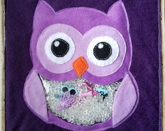 Owl Eye-Spy Felt Page