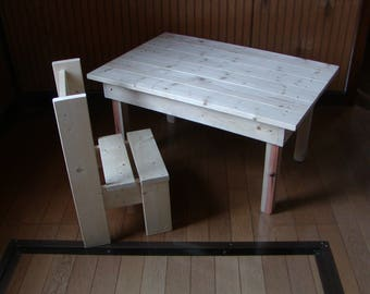 Kids Chair and table Child's table and chair