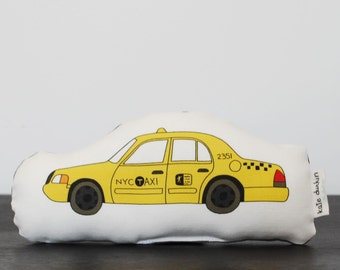 Mini Plush NYC Taxi