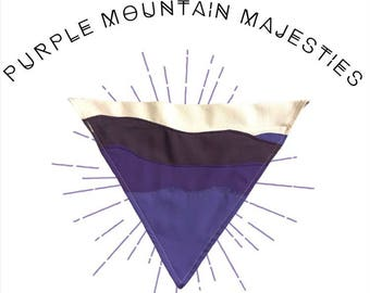 Purple Mountain Majesties Bandana