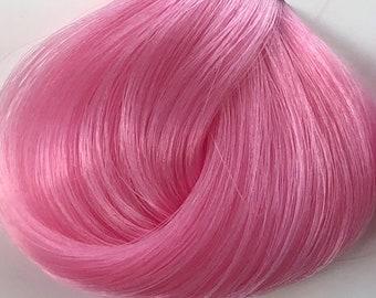 Nylon Doll Hair, Deluxe OOAK, Bubblegum Tress, Rerooting