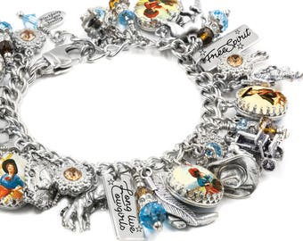 Western Jewelry, Cowgirl Bracelet, Country Girl, Personalized Cowgirl, Cowgirl Jewelry, Western Bracelet