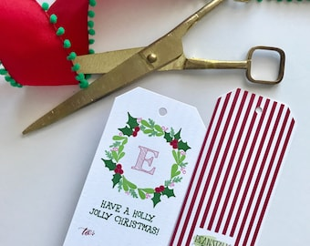 Holly Jolly Gift Tag (Pack of 12)