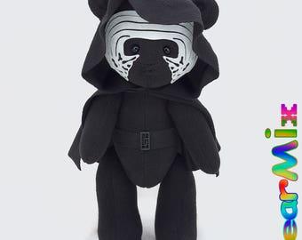 Kylo Ren bear - star wars last jedi dark side