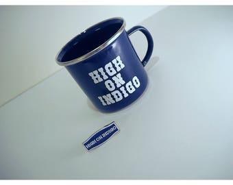 HIGH ON INDIGO Pin + Enamelcup