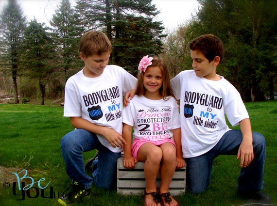 Big Brother Little Sister Big Brother Little Sister Shirt-6025