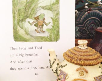 Frog and Toad Loose Pages