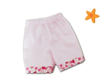 Long shorts 3 months/newborn gift / girl shorts
