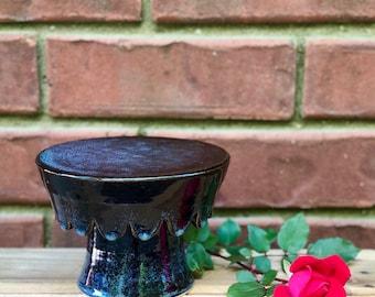 small stand - handmade - ceramic - pottery - stoneware