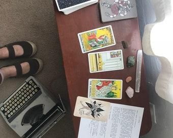 Typewriter Tarot Reading