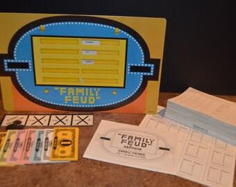 Vintage 1978 Milton Bradley Family Feud Game 2nd Edition #4723