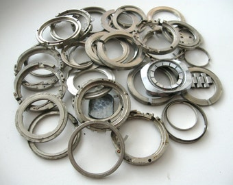 Vintage watch parts Steampunk Craft Supplies 156gms