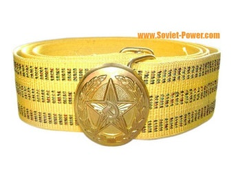 Soviet Parade smart military golden BELT