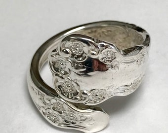 Sterling Silver Gorham BUTTERCUP Spoon Ring