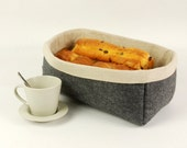 Felt Organizing Bread Storage Basket Bin Organize Felt Storage Storage Bin Table Felt Basket Table Storage Case E1003