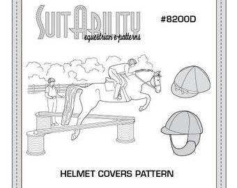 PDF Helmet Covers Pattern