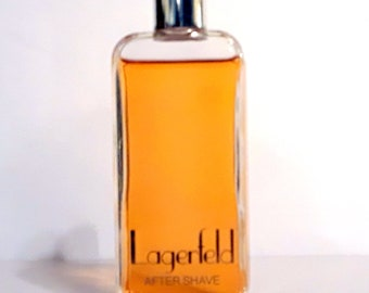 Vintage 1980s Lagerfeld Classic by Karl Lagerfeld 2 oz After Shave Splash Not COLOGNE