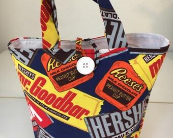Candy bar gift bag