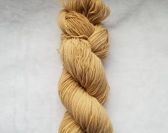 Ready to Ship: Java Sock Yarn |Naturally Dyed