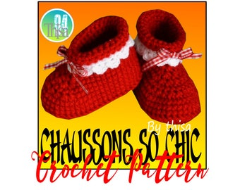 Tutorial fancy crochet slippers
