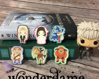 Labyrinth Inspired Bookmarks