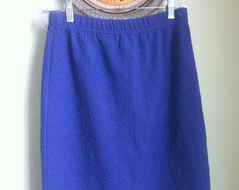 Vintage skirt Bodycon Grunge Purple Cotton