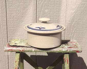 Vintage Small Brummell Casserole Baker