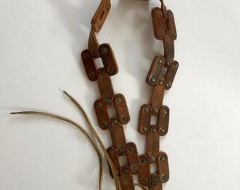 Artisan Made Leather Belt