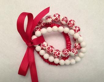 Bracelet Bundle - Runway Red Theme