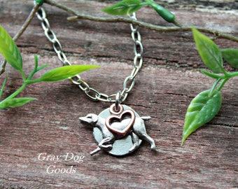 Weimaraner Necklace, Weimaraner Jewelry