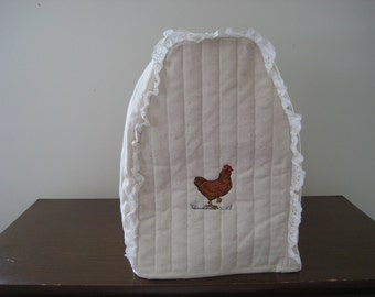 Kitchen Mixer cover chicken design