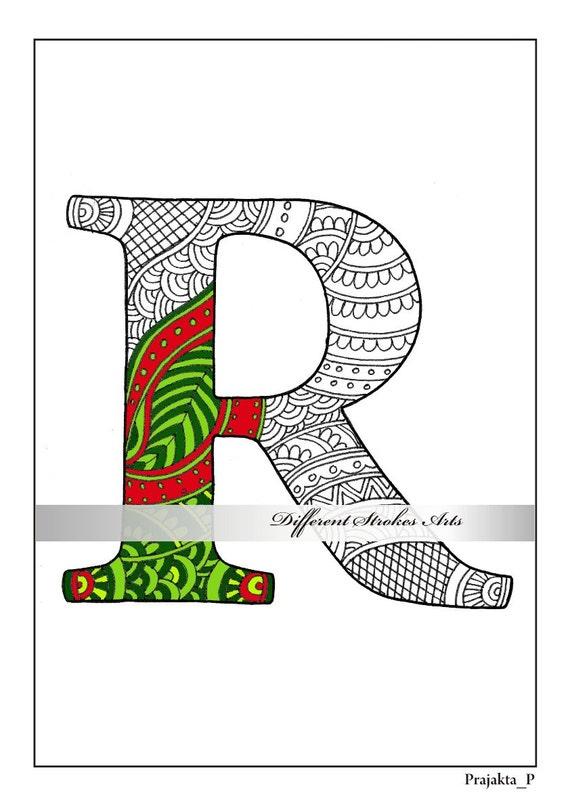 Buchstabe R Malvorlagen zum Ausdrucken Malvorlagen Malbuch