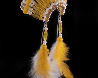 Indian headdress, hang from your rearview mirror in your car or at home