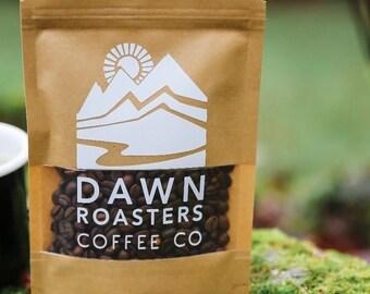 Coffee Beans - Freshly Roasted Kenya AA Single Origin - whole bean & espresso ground - Dawn Roasters - Choose size