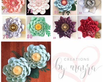 Pdf paper flower templates diy paper flowers price is for hardcopy paper flower templates diy paper flowers price is for one style mightylinksfo