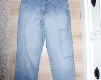 Vintage style denim size 34 FR - 1980s