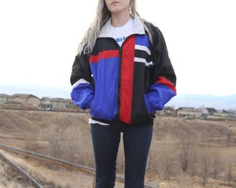 Vintage 90s Athletic Works Windbreaker - S