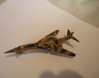 Vintage B-1 Bomber A-134 Diecast Metal Plane Toy, collectable