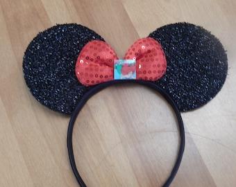 Disney Inspired Mickey Ears Little Mermaid