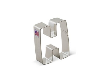 Letter H Cookie Cutter, Baking and Candy Making, Bakeware, Cookie Cutters