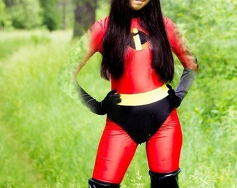 The incredibles Violet cosplay costume bodysuit unitard