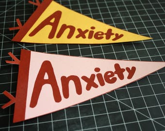 Anxiety Pennant