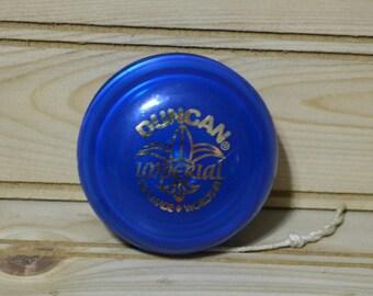 Vintage Duncan Imperial YoYo Worlds #1  USA Made  Blue Yo-Yo