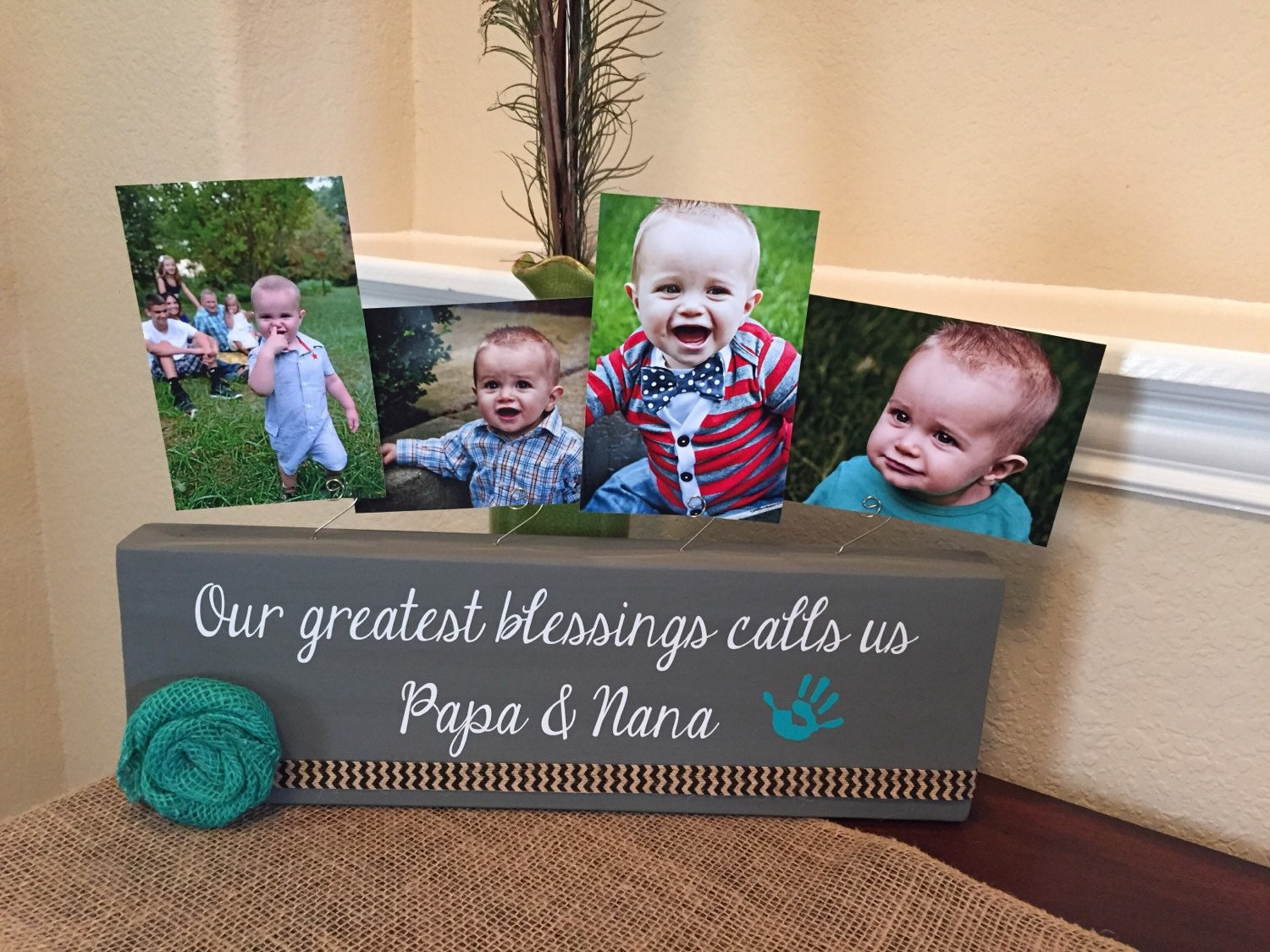 Gift for godparents personalized picture frame gift for baptism 3595 jeuxipadfo Image collections