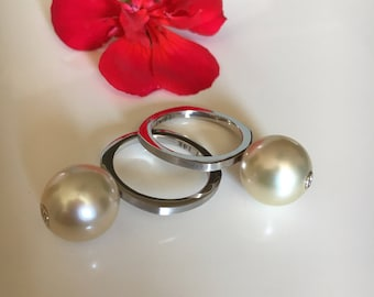 14k South Sea Pearl Ring