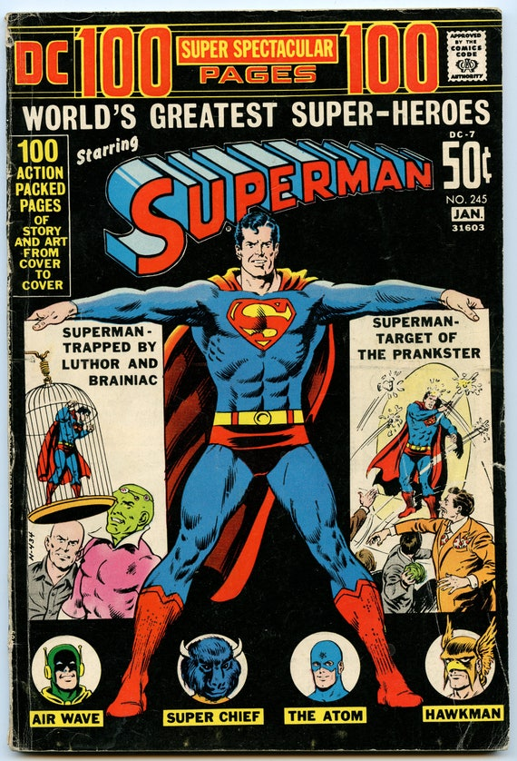 Superman 245 Jan 1972 VG- (3.5)